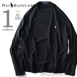 大きいサイズ メンズ POLO RALPH LAUREN ポロ ラルフローレン ワンポイント長袖ラグラントレーナー USA直輸入 710675655001|bmo
