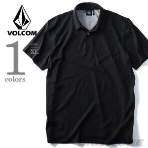 大きいサイズ メンズ VOLCOM ボルコム 無地半袖ポロシャツ Wowzer Polo USA直輸入 a0111600|bmo