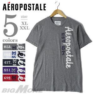 大きいサイズ メンズ XL XL AEROPOSTALE エアロポステール 半袖クルーネックデザインTシャツ USA直輸入 ap6959 bmo