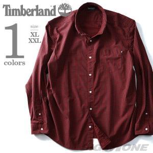 大きいサイズ メンズ TIMBERLAND ティンバーランド 長袖チェック柄ボタンダウンシャツ USA直輸入 tb0a1lhl|bmo