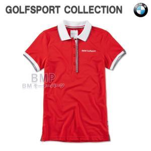BMW純正 BMW GOLFSPORT COLLECTION ポロシャツ レッド(レディース)|bmp