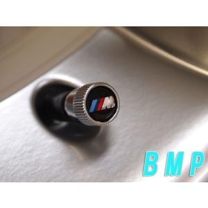 BMW純正 BMW US限定 アクセサリー BMW バルブキャップ Mマーク 4個セット bmp