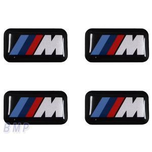 BMW純正 BMW エンブレム BMW Mシール プラスチック 4枚セット bmp