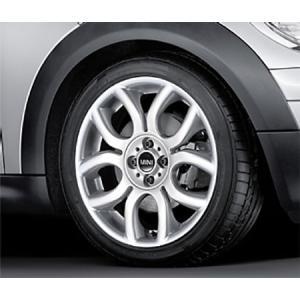 """BMW MINI アルミホイール 7J×17 ET48 """"フレーム・スポーク R97(シルバー)"""" R50/R52/R53/R55/R56/R57/R58/R59 bmp"""