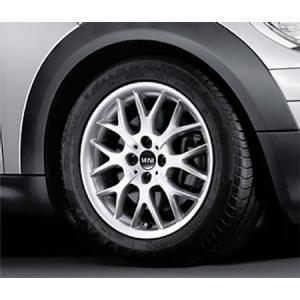 """BMW MINI 用 アルミホイール 6.5J×16 ET48 """"クロス・スポーク R90"""" R50/R52/R55/R56/R57/R58/R59 bmp"""