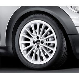 """BMW MINI アルミホイール 7X17 ET48 """"マルチ・スポーク R108"""" R50/R52/R53/R55/R56/R57/R58/R59 bmp"""