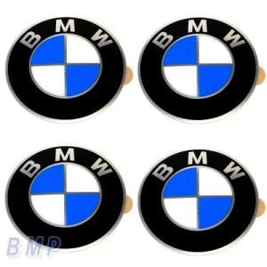 BMW純正 BMW エンブレム BMW ホィールキャップバッジ 58mm 4枚セット bmp