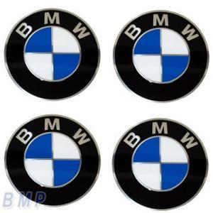 BMW純正 BMW エンブレム BMW ホィールキャップ バッジ 70mm 4枚セット bmp