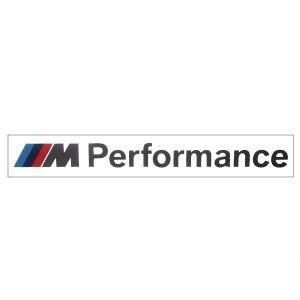 BMW純正 BMW M Performance ステッカー エンブレム あすつく bmp