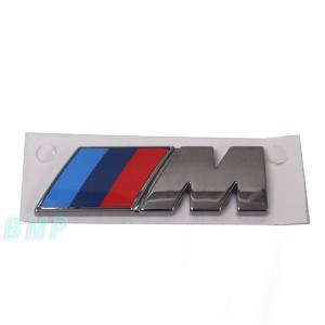 BMW純正 BMW F15 X5 M50dX M フェンダー エンブレム(ブラック・クローム) bmp
