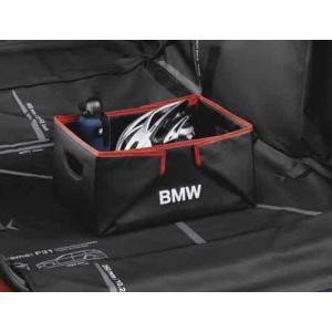 品質保証のBMW純正  すばやく組み立てることができる、折りたたみ式防水加工済みのボックスです。 走...