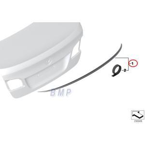 品質保証のBMW純正部品  BMW F10 M5に標準装備されているトランクスポイラーです。  塗装...