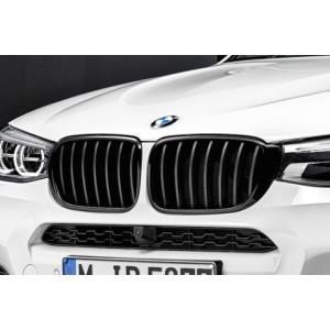 BMW F25 X3 LCI / F26 X4 LCI 後期用 ブラック・キドニー・グリルセット (2014/04〜)