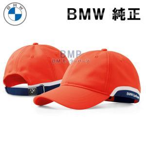 BMW純正 BMW ゴルフスポーツ キャップ 帽子(ファイア・オンレジ)|bmp