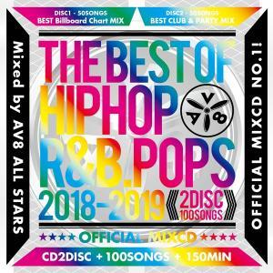 送料無料 MIXCD - THE BEST HIPHOP R&B POPS 2018-2019 - OFFICIAL MIXCD《洋楽 Mix CD/洋楽 CD》《BHR-003/メーカー直送/輸入盤/正規品》