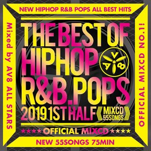 THE BEST HIPHOP R&B POP 2019 -1ST HALF-《洋楽 Mix CD/洋楽 CD》《BHR-005/メーカー直送/輸入盤/正規品》