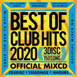 送料無料 MIXCD - BEST OF CLUB HITS 2020 -3DISC 150SONG...