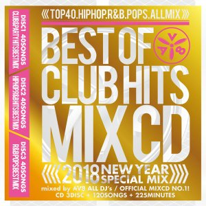 《送料無料/MIXCD/NEW-001》BEST OF CLUB HITS MIXCD -2018 NEW YEAR SPECIAL MIX-《洋楽 Mix CD /洋楽 CD/2017年 ベスト CD》《メーカー直送/輸入盤》|bmpstore