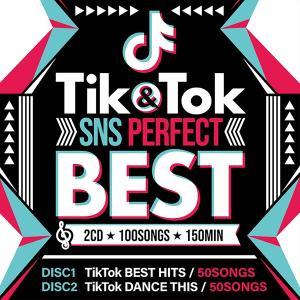 -TIK & TOK -SNS PERFECT BEST- 2CD 100SONGS-《洋楽 Mix CD/洋楽 CD》《 OKT-001 /メーカー直送/輸入盤/正規品》