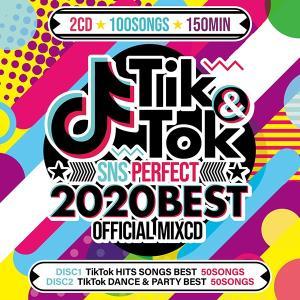送料無料 MIXCD - TIK&TOK -2020 SNS PERFECT BEST- OFFICIAL MIXCD 《洋楽 Mix CD/洋楽 CD》《 OKT-003 /メーカー直送/輸入盤/正規品》