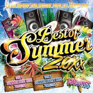 《送料無料/MIXCD》BEST OF SUMMER 20XX -NON STOP 150SONGS MIX-《洋楽 Mix CD/洋楽 CD》《SMM-002/メーカー直送/輸入盤/正規品》|bmpstore