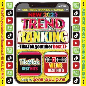 送料無料 MIXCD - NEW 2020 TREND RANKING -Tik&Tok.youtuber best 77-《洋楽 Mix CD/洋楽 CD》《 WTR-001 /メーカー直送/輸入盤/正規品》|bmpstore