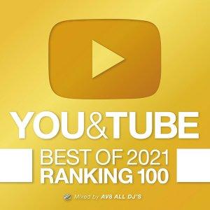 YOU & TUBE BEST OF 2021 RANKING 100  洋楽 ヒットチャート 最新 人気 ランキング おすすめ 送料無料 MIXCD 洋楽 定番 YOU-001|bmpstore
