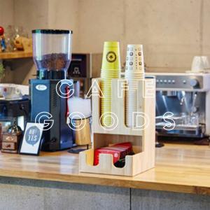 紙コップクリアカップ  ディスペンサー ウッドコーリー3口用 Cuffy-W953|bmt-store
