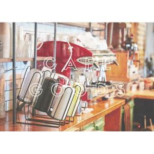 紙コップ テイクアウト おしゃれ クリアカップ カフェグッズ ディスペンサー アイアンカップ&リード3段ディスペンサー  3口用 Cuffy-I584|bmt-store