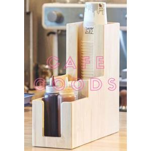 紙コップ クリアカップ ディスペンサー ウッドレゴ 3口用 Cuffy-W940|bmt-store