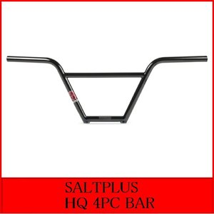 SALTPLUS / HQ 4PC BAR 9インチ / BLACK|bmx-source
