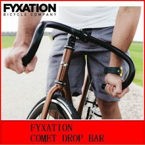自転車 クロスバイク ハンドル FYXATION COMET DROP BAR / BLACK bmx-source