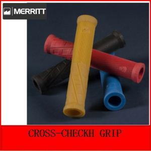自転車 BMX グリップ MERRITT CROSS-CHECKH GRIP  160MM|bmx-source