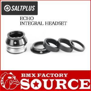自転車 BMX ヘッドセット SALTPLUS ECHO INTEGRAL HEADSET  BLACK|bmx-source