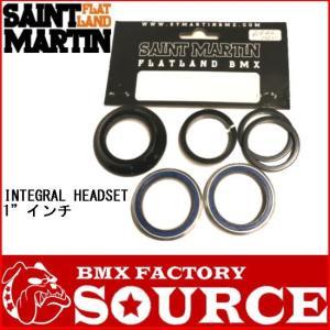 自転車 BMX ヘッドセット ST MARTIN  INTEGRAL HEADSET  1