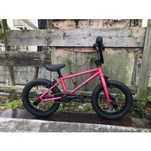 限定別注カラー 完全組み立てすぐに乗れます 自転車 BMX 子供 14インチ キッズバイク  TNB PLUG 14  ATRO-STYLE CANDY-PINK|bmx-source