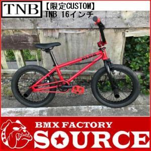 完全組み立てすぐに乗れます。軽量、高品質 限定BMX KIDS CUSTOM 16インチ 子供自転車 TNB / PLUG - 16