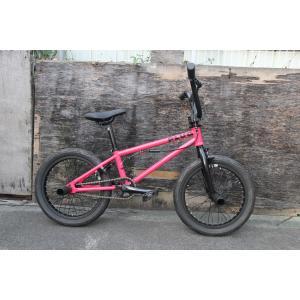 軽量、高品質 限定BMX KIDS オールペイント16インチ キッズ 子供自転車 TNB PLUG - 16 ピンク|bmx-source