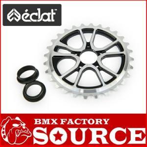 自転車 BMX スプロケット ECLAT RS SPROCKET 25T BOLT DRIVE  HIGH POLISHED|bmx-source