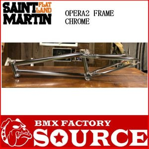 BMX20インチ用フルクロモリ  ST-MARTIN  OPERA2 FRAME CHROME|bmx-source