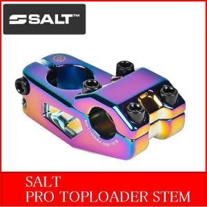 SALT / PRO TOPLOADER STEM 50mm / OIL SLICK|bmx-source