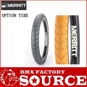 2本セット 自転車 BMX20インチタイヤ MERRITT OPTION TIRE  20