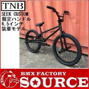 自転車 BMX FLATLAND 20インチ  TNB  SEEK CUSTOM MATT BLACK BAR|bmx-source
