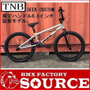 自転車 BMX FLATLAND 20インチ  TNB  SEEK CUSTOM GRAY BAR6.5|bmx-source
