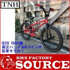 別注カスタム 本格派BMX FLATLAND 20インチ TNB  SEEK CUSTOM MATT RED  BAR-6.5