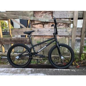 自転車 BMX FLATLAND 20インチ  TNB / ROTATION PEG装着モデル TNB  TRICKSTER 18.9 MATT BLACK|bmx-source