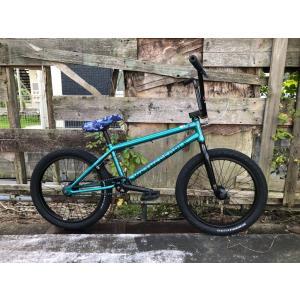 4月入荷予定 自転車 BMX 20インチ ストリート アップグレードモデル WETHEPEOPLE 2021 CRYSIS MIDNIGHT GREEN|bmx-source