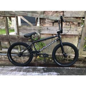 自転車 BMX 20インチ ストリート アップグレードモデル WETHEPEOPLE 2021 CRYSIS MATT BLACK|bmx-source