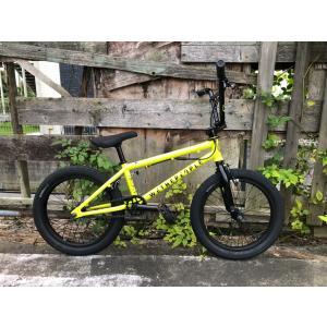 自転車 BMX ストリート18インチ  WETHEPEOPLE CRS METALLIC YELLOW |bmx-source