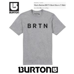 BURTON バートン 半袖 Tシャツ BRTN SS T 2018 最新■GRAY HEATHER